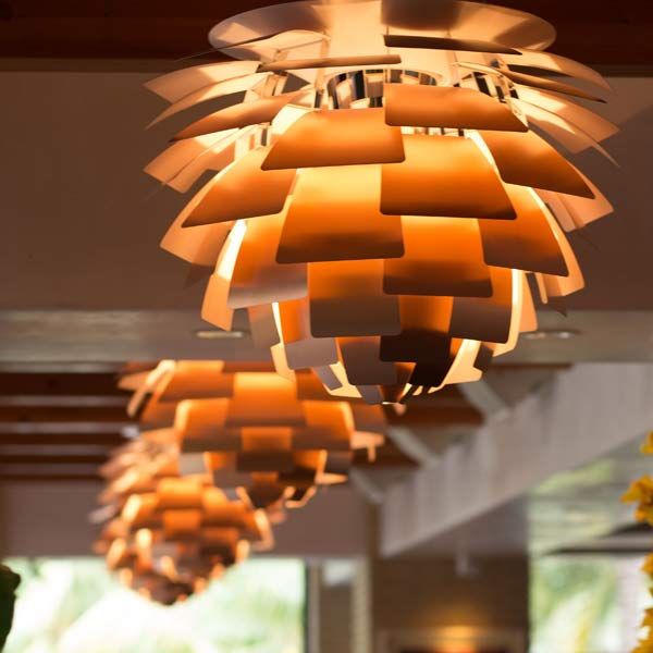 Poulsen artichoke light fixtures